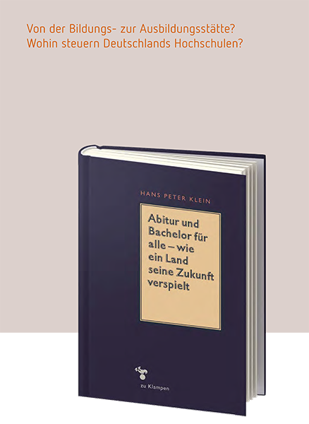 Publikationen – Hans Peter Klein